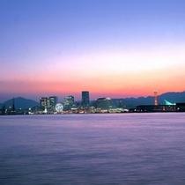 *神戸メリケンパーク夜景