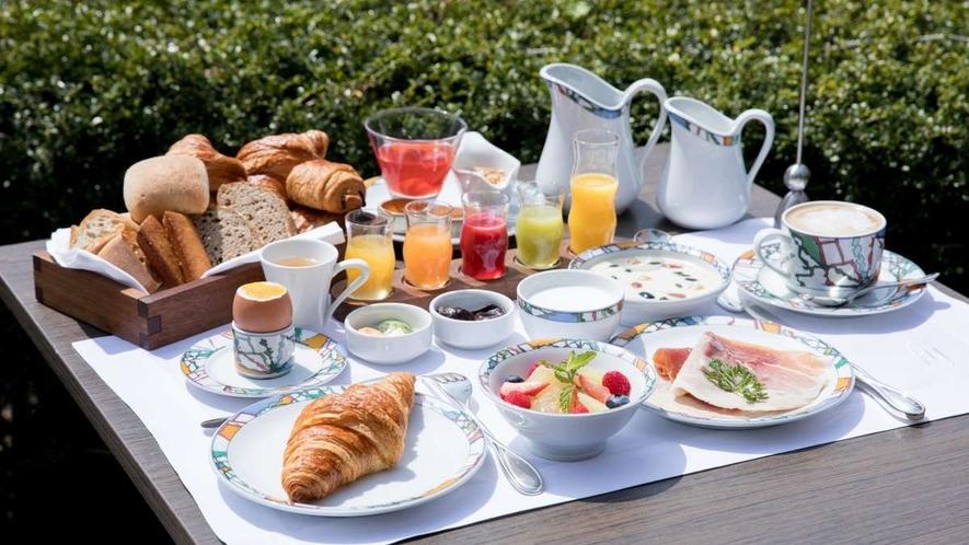 「世界一」と称賛されたフランス料理界の重鎮、ベルナール・ロワゾー氏の朝食メニュー。