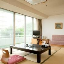 【ガーデンスイート館 一般客室44平米和洋室低階層】和室