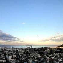 【センターウイング館 和洋室44平米】客室からの眺め