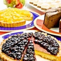 食後のお楽しみ♪ケーキやフルーツも充実☆