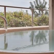 【ゆるかの湯】壺湯で浴槽を独り占め☆心静かに憩う時間を楽しんで。