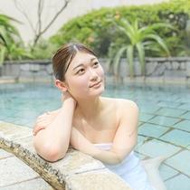 【美人の湯】伊東ホテルジュラクの温泉はph8.34!肌の古い角質を溶かすのでお肌ツルスベに♪