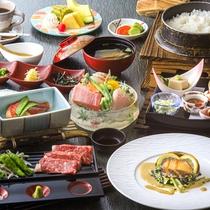 厳選された良食材で仕上げた『伊豆の恵を味わう和会席』 ※イメージ