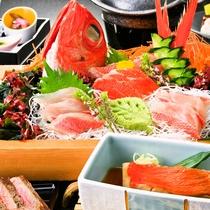 【金目鯛御膳】プリッと美味しい海のプラチナ金目鯛をお召し上がり下さい!※一例