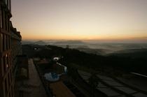 日の出&雲海