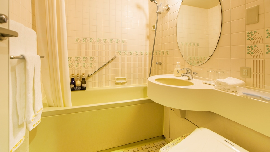 本館7~15階 スタンダードフロア バスルーム 一例