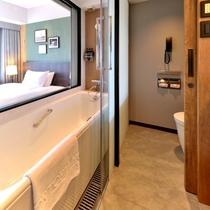 本館24階 プレミアシングル バスルーム