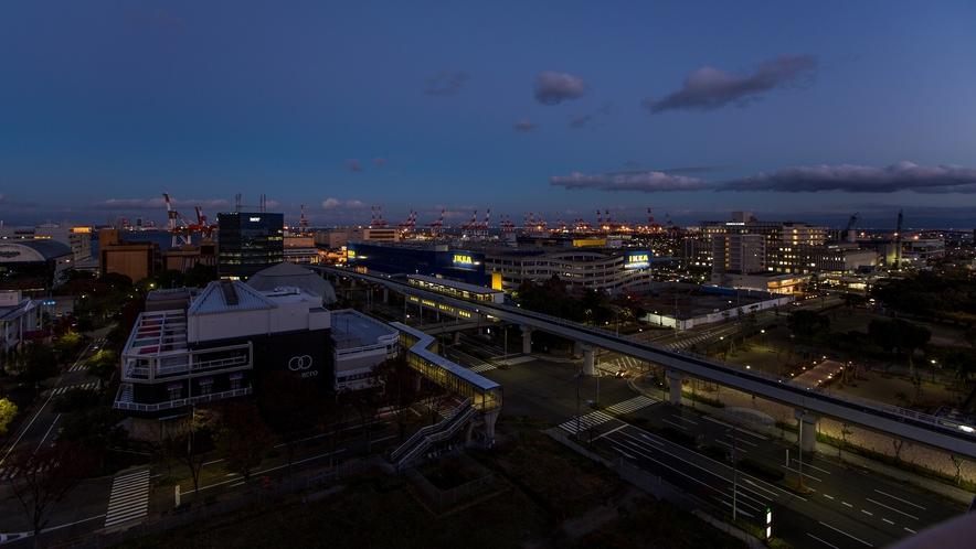 南館からの眺望(東側・夜) イメージ