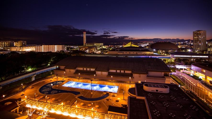 南館からの眺望(西側・夜) イメージ