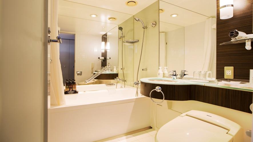 本館20~23階 ミッドセンチュリーフロア バスルーム 一例