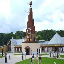 ◆【周辺観光】『道の駅おんねゆ温泉』世界最大級のハト時計が設置されています♪当館から車で約45分程度