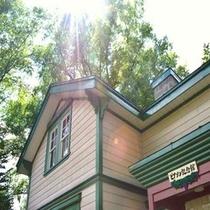 ◆【周辺観光】『ピアソン記念館』2001年(平成13年)10月22日、北海道遺産に選定されました。