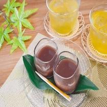 ◆【朝食】『ハッカ水羊羹』ほのかに香るハッカの香りと清涼感をお楽しみ下さい♪