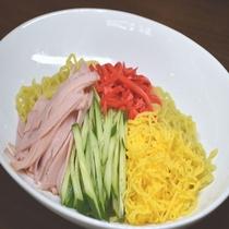 ◆【無料夕食】『冷やし中華』平日限定18時~20時、食数限定でご提供♪(内容は季節により異なります)