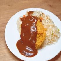 ◆【朝食】北海道根室市のご当地料理『エスカロップ』をドーミーイン北見風にしてご提供♪