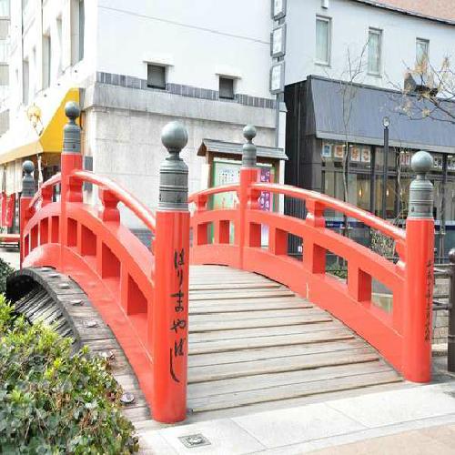 ☆はりまや橋は日本3大?です。からくり時計も近くにあります
