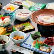 【朝食 和定食】一日の始まりは体に優しい和定食(一例)