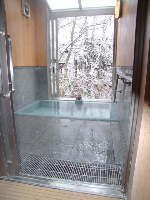 冬貸切家族風呂
