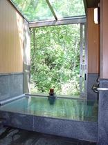 夏 貸切家族風呂長寿の湯(寝湯)