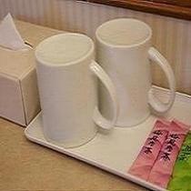 緑茶・梅茶サービス