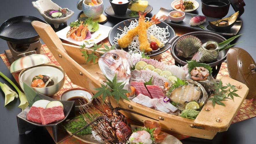 【宿イチオシ!人気No.1】伊勢えびお造り一尾付料理例(イメージ写真)