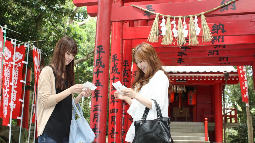 相差散策神明神社