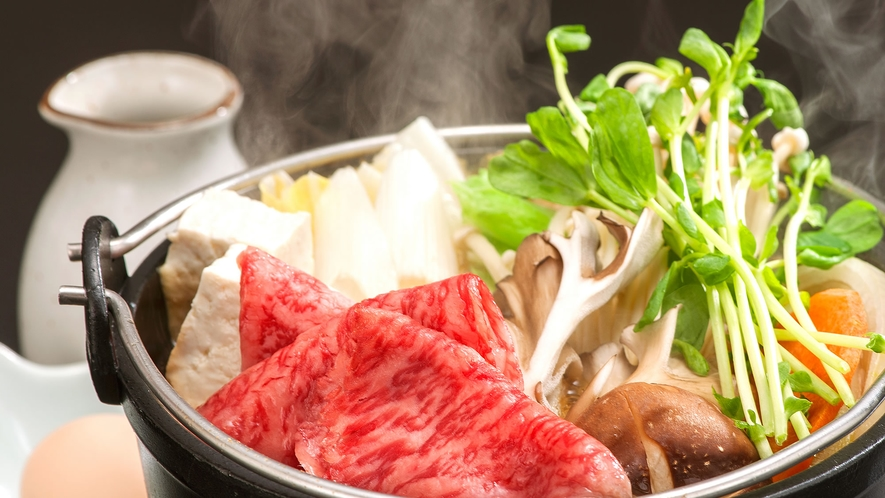 松阪牛はすき焼きがおすすめ!