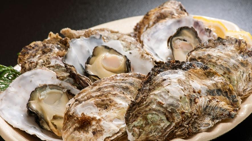別注 焼き牡蠣(冬季限定)3個1,320円