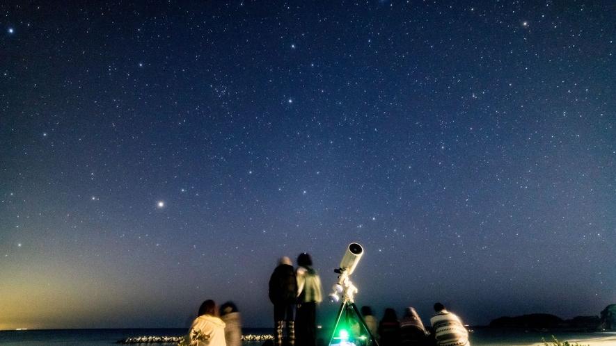 星のソムリエによる星空案内