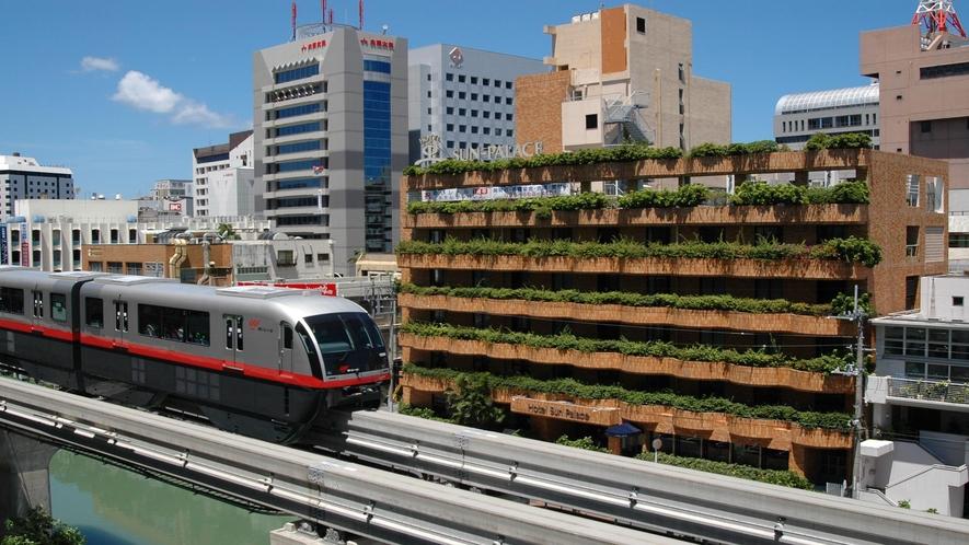 ホテルサンパレス球陽館外観