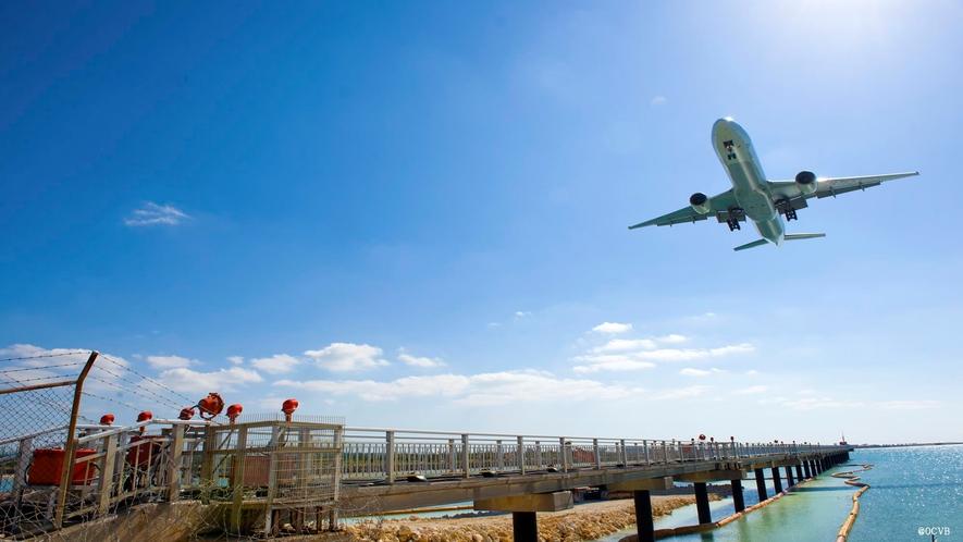 那覇空港から一番近い離島、瀬長島