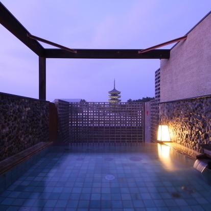 展望露天風呂(あおがきの湯:男湯)