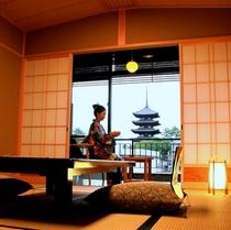 興福寺五重塔を望むお部屋イメージ
