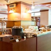 【朝食ハーフブッフェ】スープやパンなどお好きなものをお召し上がりください★
