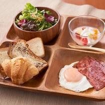 【朝食:洋食】スープ・珈琲にもこだわった洋朝食です!