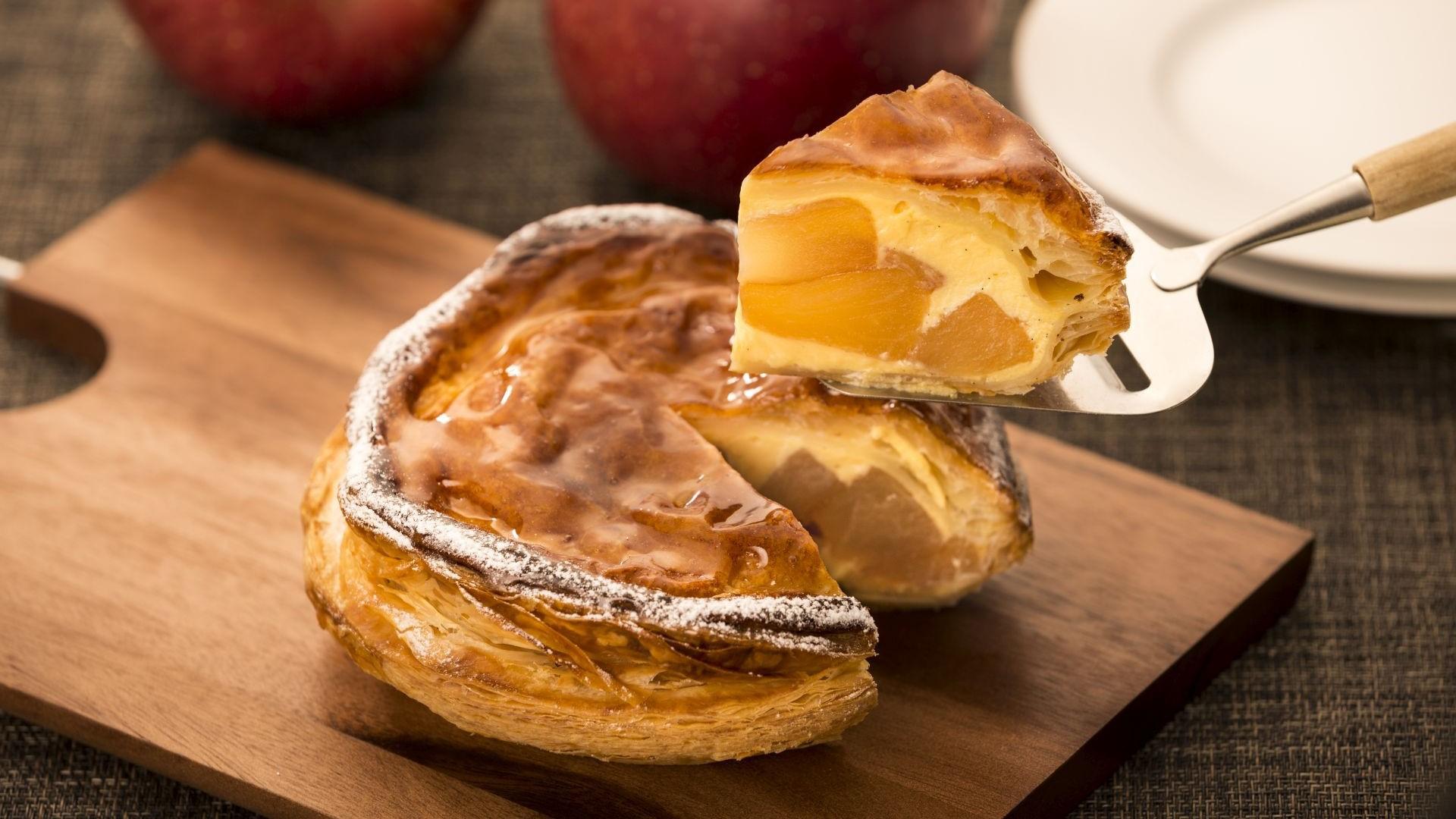 丸ノ内ホテル伝統のアップルパイ