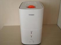 ■加湿器■お部屋を適度な室温に保ちます。女性のお客様に好評です♪
