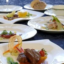 トップレストラン『フォーシーズン』のコース料理