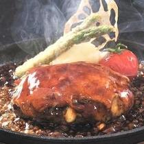 モッツァレラWチーズハンバーグ