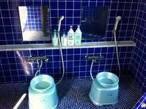 共同風呂 洗い場