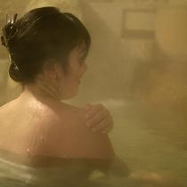 【温泉】肌への保湿効果があり、お風呂上りはツルツルのお肌が実感できます!