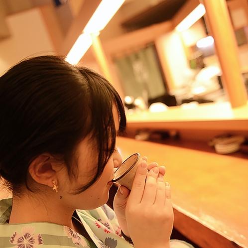 酒処秋田の地酒は香り豊かで飲みやすく、女性にも人気☆
