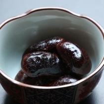 朝食 花豆