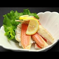 ◆【ご夕食一例・単品】蒸しかに