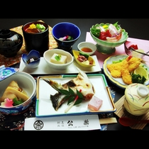 ◆【海鮮定食一例】