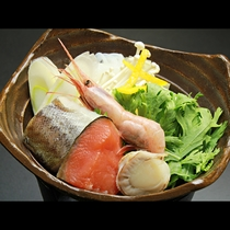 ◆【ご夕食一例・冬季】海鮮鍋