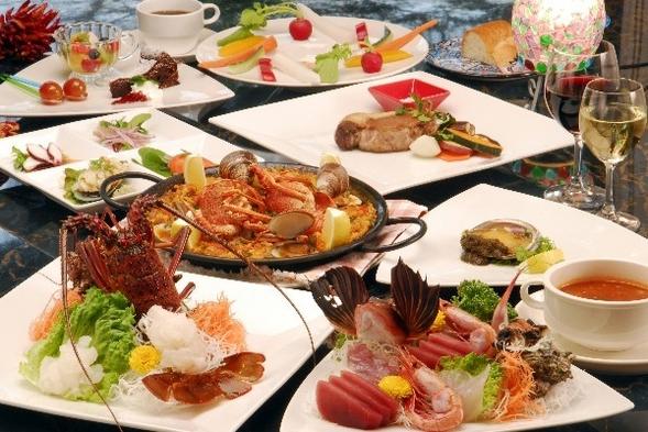 ☆一人旅【お部屋食】グレードUP!伊勢海老・鮑・地魚盛り・イベリコ豚など全11品♪