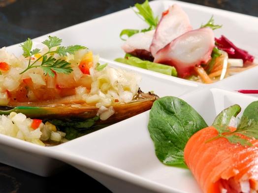 ◆=定番=◆オーナーシェフの逸品!!創作スペイン料理全8品スタンダード伊勢海老パエリア♪