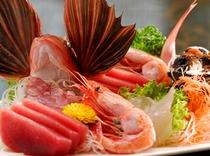 伊豆地魚の盛り合わせ